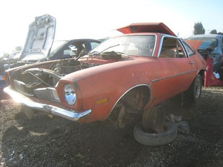 1972 Ford Pinto Down On The Junkyard