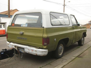 1973 Chevrolet K5 Blazer Down On The Alameda Street