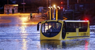 The Amphibious Bus: Yes, It's An Amphibious Bus
