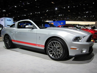 2011 Shelby GT500: Silver Live Photos