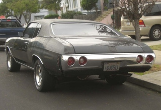1972 Chevrolet Chevelle Malibu Down On The Alameda Street