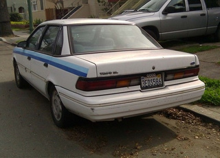 1993 Ford Tempo Down On The Alameda Street