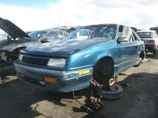 1993 Plymouth Duster Down On The Junkyard