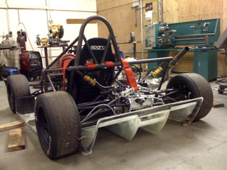 The dp4 Super Go-Kart