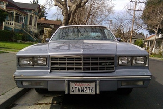 1984 Chevrolet Monte Carlo CL Down On The Alameda Street