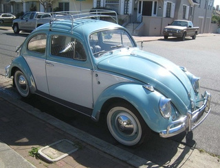 1961 Volkswagen Beetle Down On The Alameda Street