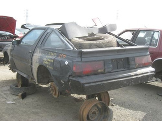 1986 Dodge Conquest Down On The Junkyard