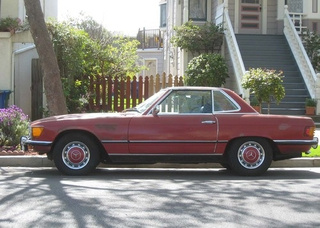 1972 Mercedes-Benz 350SL Down On The Alameda Street