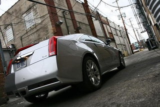 2011 Cadillac CTS Coupe First Ride