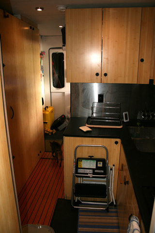 EcoRoamer Expedition Vehicle: Interior Cabin Shots