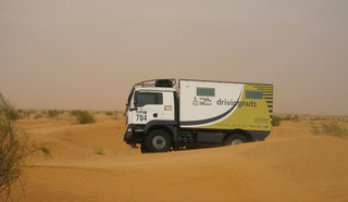 MAN Overland Dakar Truck: Racing Photos