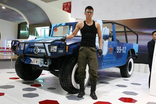 Dongfeng Hummer: Live Photos