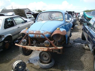 Pinto Beans Baja Bug Down On The Junkyard
