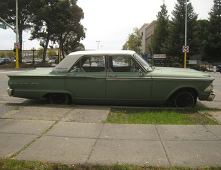 1962 Ford Fairlane 500 Down On The Alameda Street