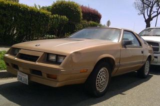 1985 Chrysler Laser XE Down On The Alameda Street