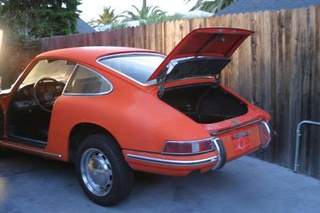 Building An Electric Porsche 912