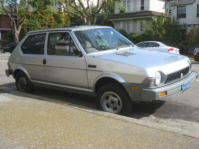 1981 Fiat Strada Down On The Alameda Street