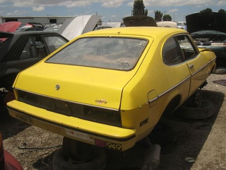1977 Ford Capri II Down On The Junkyard