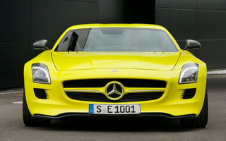 Gallery: Mercedes-Benz SLS AMG E-Cell