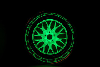 Glowing Wheels
