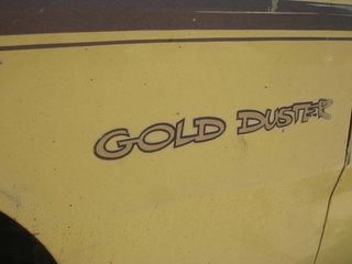 1974 Plymouth Gold Duster Down On The Alameda Street