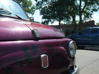 Fiat 500 Down On The Denver Street