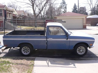 Datsun Pickup Down On The Denver Street