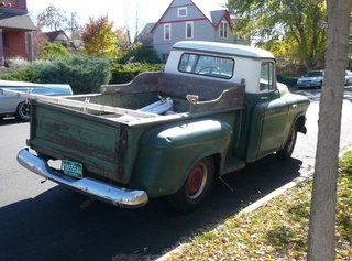 1955 GMC Half-Ton Pickup Down On The Denver Street