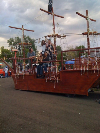 Street-Legal Pirate Vessel Plunders Denver