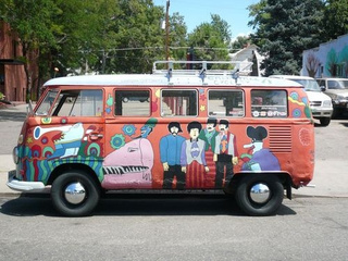 1966 Volkswagen Transporter Down On The Denver Street