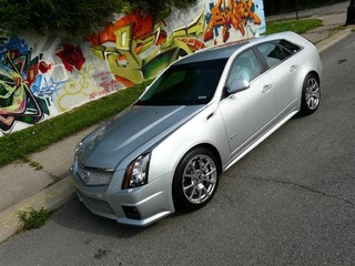2011 Cadillac CTS-V Sportwagon Ride Along