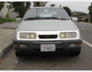 1989 Merkur XR4Ti Down On The Alameda Street