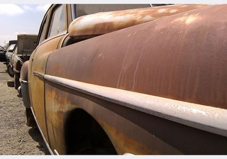 1950 Chrysler Royal Down On The Junkyard
