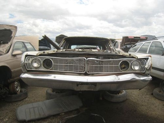1968 Ford Galaxie Down On The Junkyard
