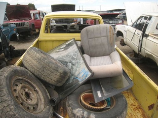 1976 Datsun Pickup Down On The Junkyard