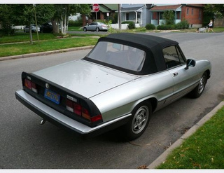 1984 Alfa Romeo Spider Veloce Down On the Denver Street