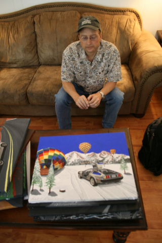 Robert Bleier: DeLorean Painter