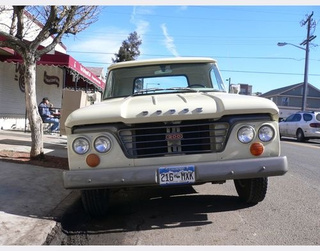 1963 Dodge D100 Down On The Denver Street