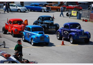 Vintage Drag Cars at the Geezer Hot Rod Show & Go 2010