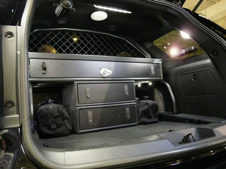 Ford Interceptor Utility Interior