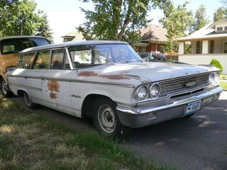 1963 Ford Country Sedan Down On The Denver Street