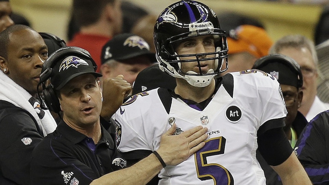 Joe Flacco Was Ready To Leave The Sideline And Tackle Ted Ginn …