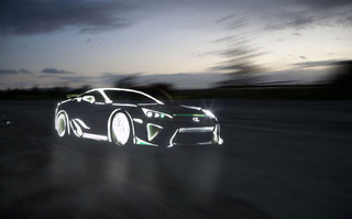 Light Graffiti Supercars