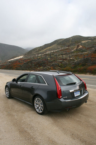2011 Cadillac CTS-V Sport Wagon: Road Photos