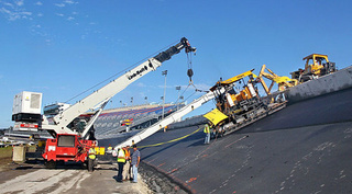 Daytona International Speedway Repaving