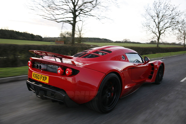 Hennessey Venom GT In Red: Exclusive Photos