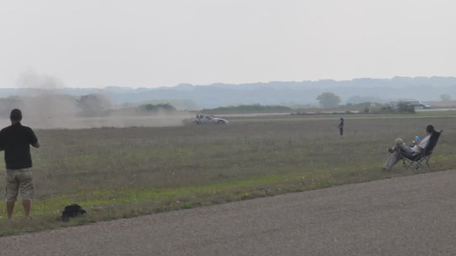 Twin-Turbo Corvette Crash At Texas Mile