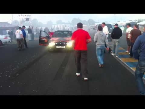 "Click here to read A ""Police"" Audi R8 Acts Bad At Le Mans"