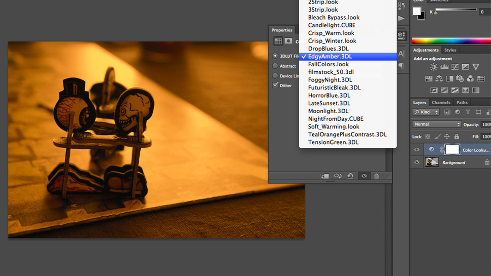 Use Photoshop's Color Lookup Adjustment Layer to Quickly Applies Color Effects to Photos