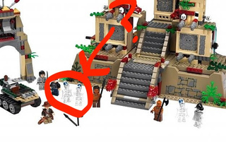 First Glimpse Of Indiana Jones Aliens — In Lego!